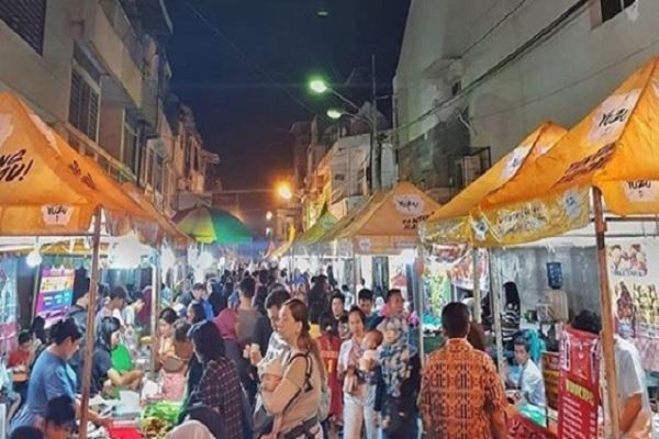 Kampoeng Semawis Semarang Jadi Surganya Food Lovers