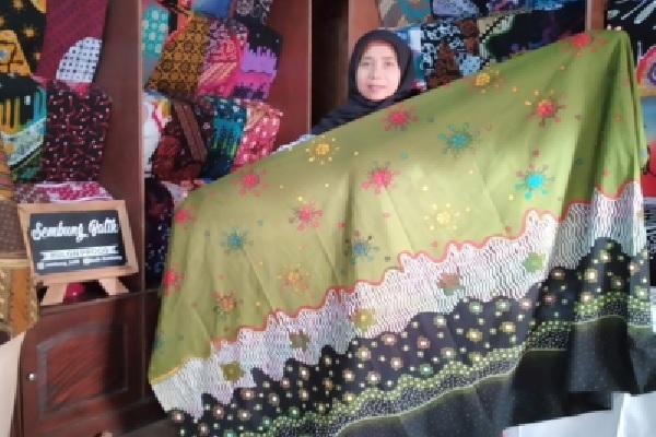 Batik Motif Corona, Berkah di Tengah Wabah Bagi Pengrajin Batik Kulonprogo