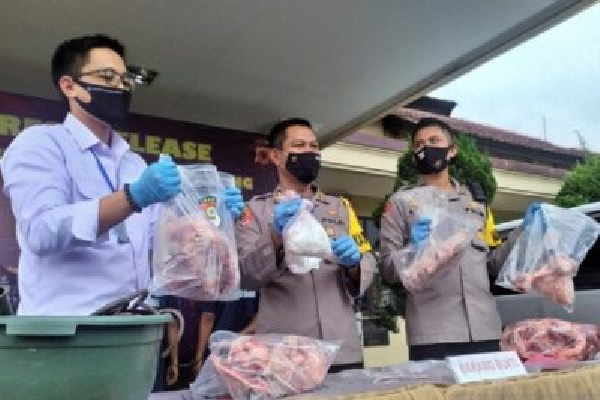 Polresta Solo Pastikan Daging Sapi Palsu di Bandung Bukan dari Kota Solo