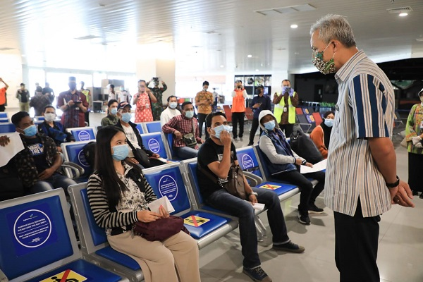 Hasil Rapid Test Pekerja Migran di Semarang, Satu Orang Dinyatakan Reaktif Covid-19