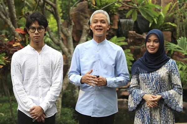 Gelar Salat Id di Rumah, Gubernur Jateng Halalbihalal Secara Virtual, Ini Cara Ikutan…