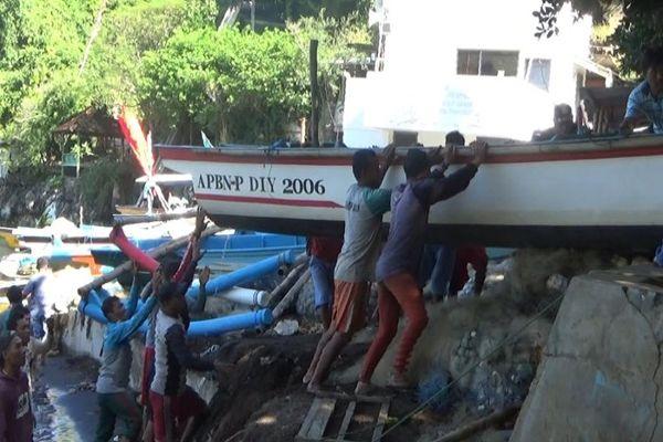 Gelombang Tinggi, Nelayan Jogya Diimbau Tak Melaut Hingga Akhir Maret