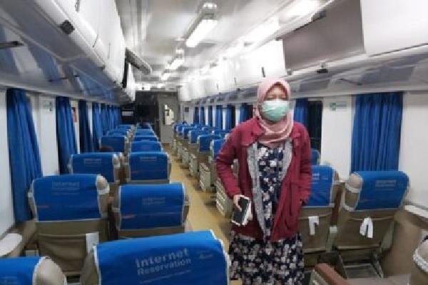 Pembatalan Operasional Kereta Api Jarak Jauh Diperpanjang Hingga 30 Juni