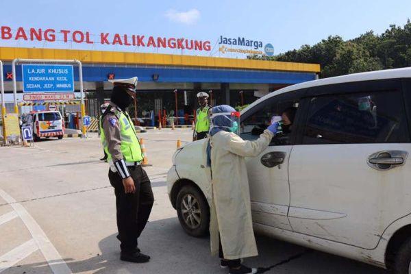 10.000 Polisi Jawa Tengah Sekat Pemudik di Perbatasan