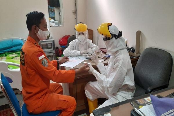 60 Petugas Basarnas Semarang Jalani Rapid Test, Begini Hasilnya…