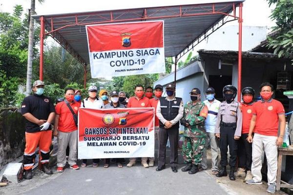 Demi New Normal, Polda Jateng Buka 284 Kampung Siaga Covid-19