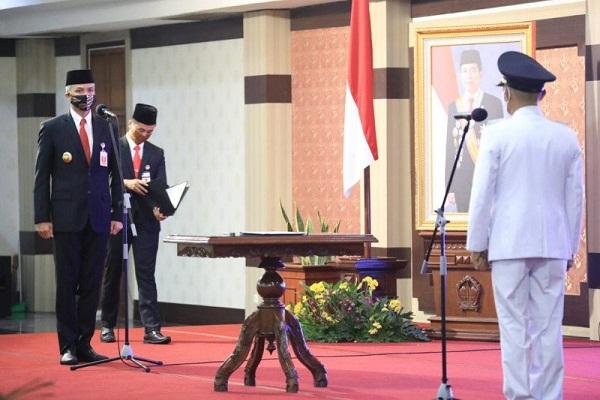 Gubernur Jateng Tatap Muka Lantik Plt. Bupati Jepara