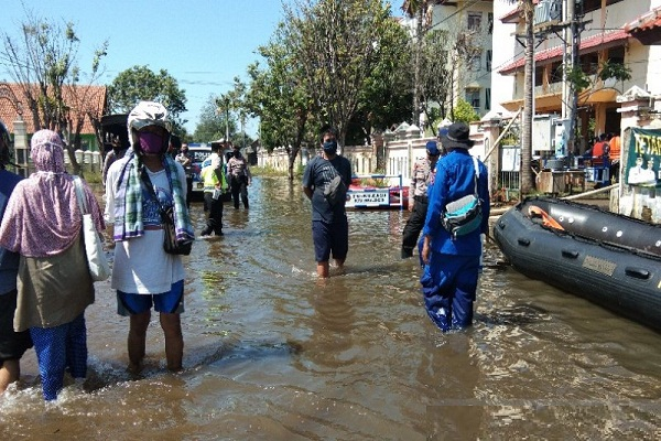 Pekalongan Tanggap Darurat Rob Hingga 17 Juni