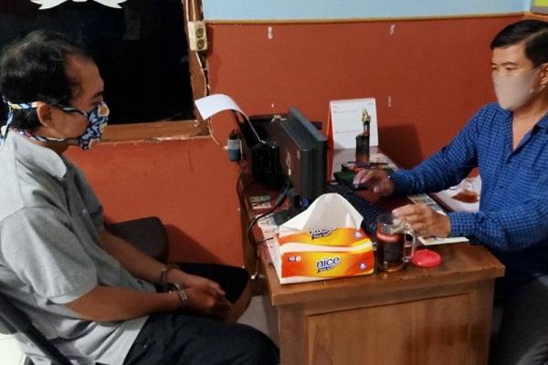 Napi Asimilasi di Banyumas Berulah, Curi Helm Ditangkap Polisi