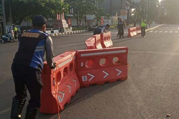Ini 9 Ruas Jalan di Semarang yang Ditutup Selama PPKM