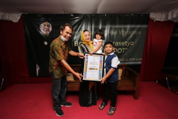 Didi Kempot Dianugerahi Penghargaan Khusus Inovasi Bidang Seni SBBI 2020