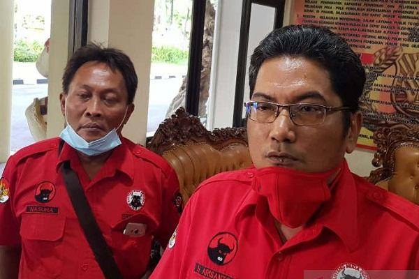 BMI Semarang Ingin Pembakaran Bendera PDIP Diusut