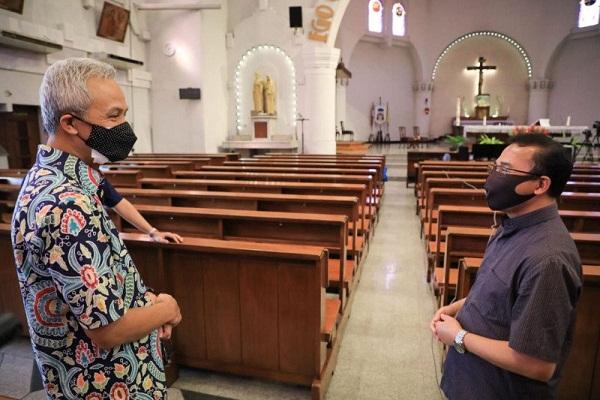 Keuskupan Semarang Kembali Buka Gereja Mulai 18 Juli 2020