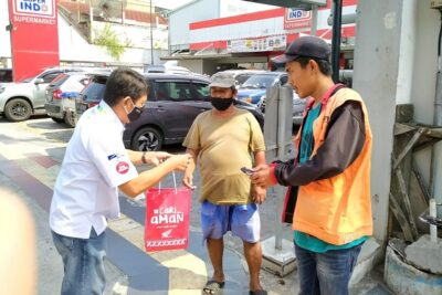 Astra Motor Jateng Bagikan 4.000 Masker Kain & Sembako