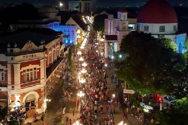 Kota Lama Jadi Saksi Era Kolonial di Semarang