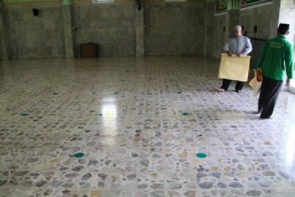 Masjid Agung Al Aqsha Klaten Dibuka, Ratusan Umat Islam Laksanakan Salat Jumat