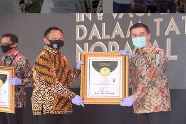 Salatiga Raih Penghargaan Favorit di Lomba Inovasi New Normal