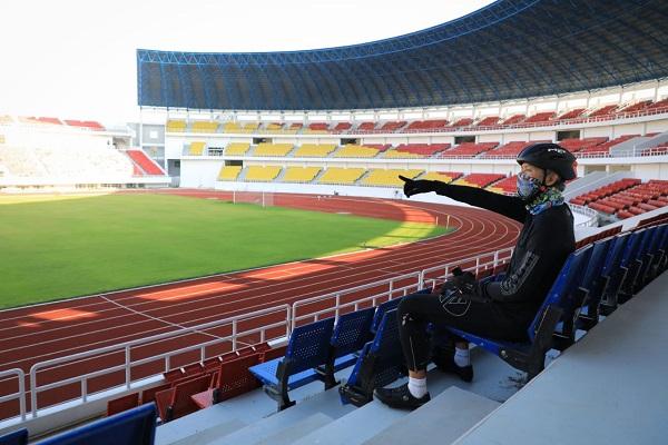 Renovasi Stadion Jatidiri Mandek, Ini Janji Gubernur Ganjar…