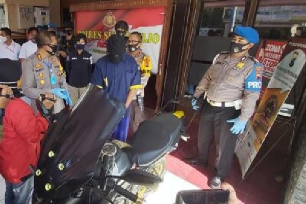 Yakinkan Polisi, Korban Begal Fiktif di Sukoharjo Silet Lengan dan Paha Sendiri