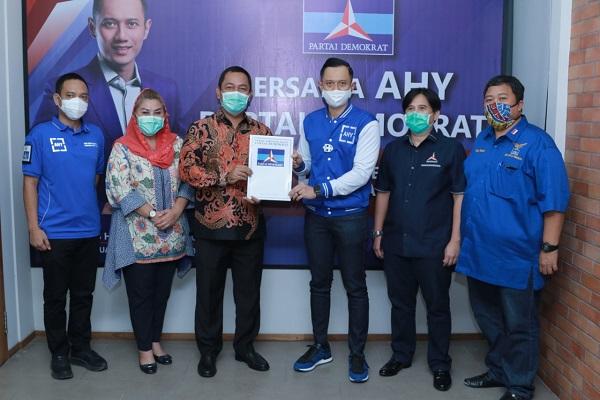 Partai Demokrat Resmi Dukung Hendi-Ita di Pilwalkot Semarang