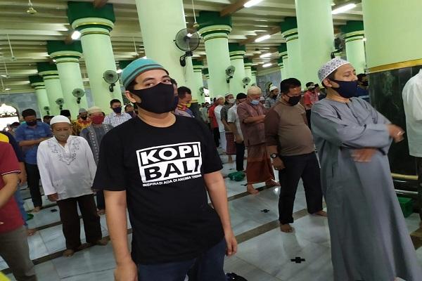 Semarang Masih Zona Merah, Sejumlah Masjid Sudah Gelar Salat Jumat Berjemaah