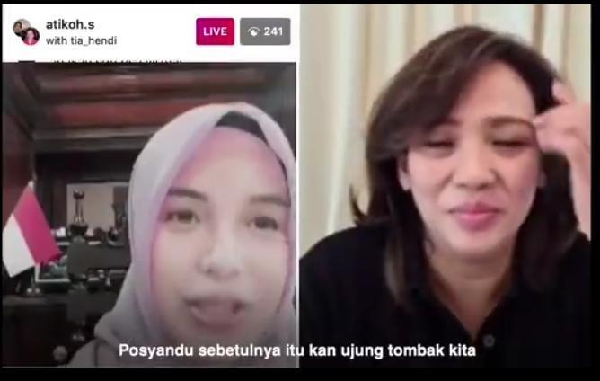 Begini Perhatian Istri Gubernur Jateng Agar Posyandu di Semarang Jalan Terus