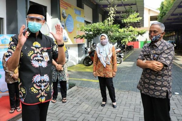 Gubernur Jateng Sampaikan Masukan PPDB 2020 ke Kemendikbud