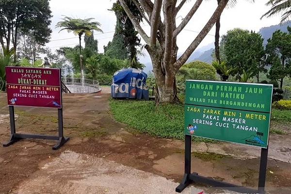 PPKM di Banyumas, Tempat Wisata Tutup