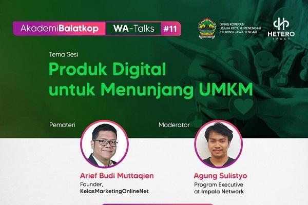 Diskop UKM Jateng Maksimalkan UMKM Lewat Pelatihan Online