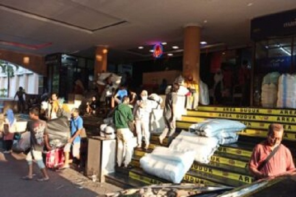 Beteng Trade Center Solo Tutup Sepekan Gara-Gara Karyawan Positif Covid-19