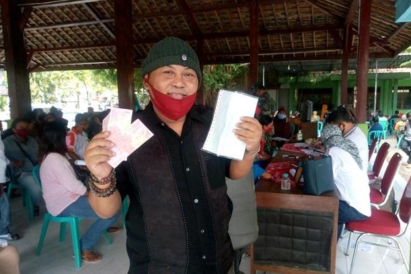 Terdampak Covid-19, Anak Pemain Srimulat di Grobogan Terima BST