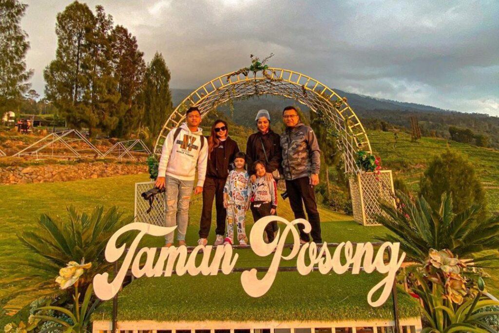 Indahnya Taman Posong, Destinasi Wisata Asix di Temanggung