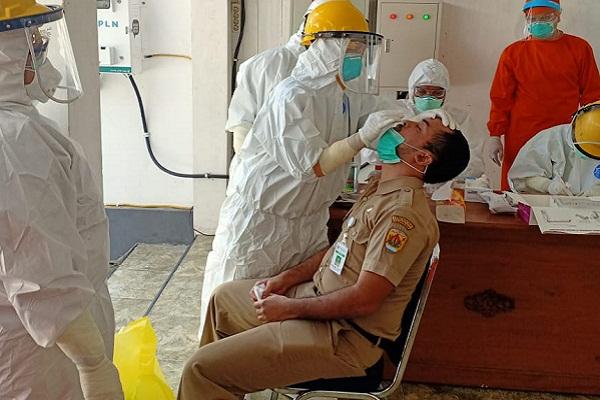 Ada Pegawai Positif Covid-19, Puluhan ASN di Grobogan Rapid Test