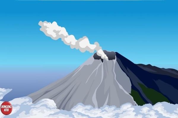 2 Empu Eyel Jadi Kisah Asal-Usul Gunung Merapi