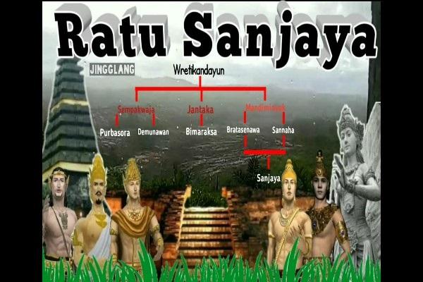 Bergelar Ratu, Pemimpin Kerajaan Mataram Kuno Ratu Sanjaya Seorang Pria