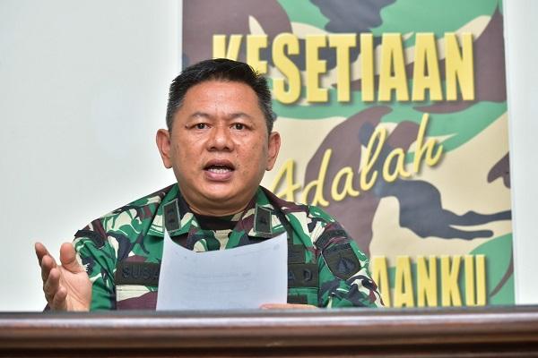Kodam Diponegoro Anggap Berita Prajurit TNI Stres Akibat Covid-19 Hoaks
