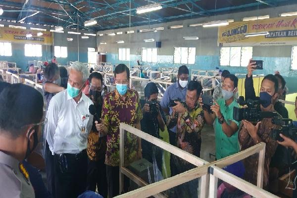 Gubernur Ganjar Puji Protokol Kesehatan Pabrik Rokok Nojorono Kudus