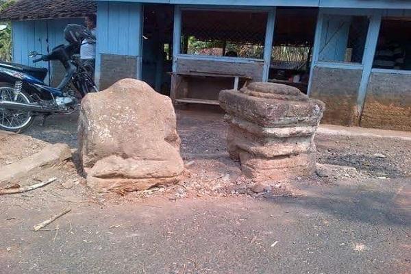 Dianggap Keramat, Batu Bekas Arca Bernilai Sejarah di Semarang Hilang