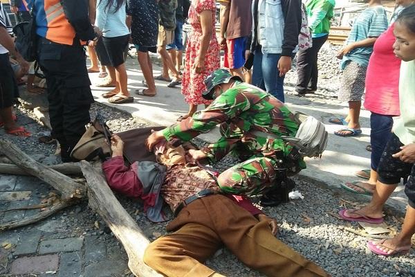 Terserempet Kereta di Semarang, Begini Kakek 70 Tahun Lolos dari Maut