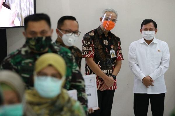 Menkes Terawan Berkantor di Semarang, Bantu Atasi Corona di Jateng