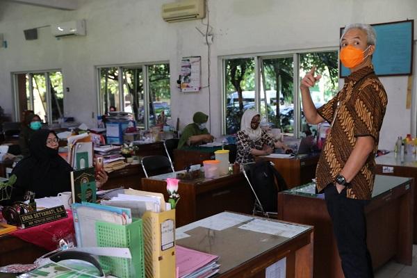 Jateng Siapkan Skenario Pembelajaran Tatap Muka di Masa Pandemi Covid-19