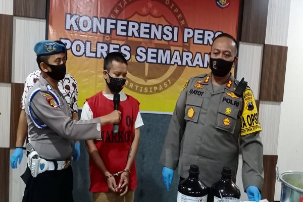 Polres Semarang Ungkap Peredaran Tembakau Gorila Antar-Provinsi