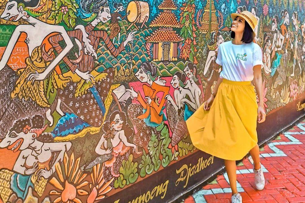 Kampung Batik Gedong Semarang Manjakan Mata Wisatawan