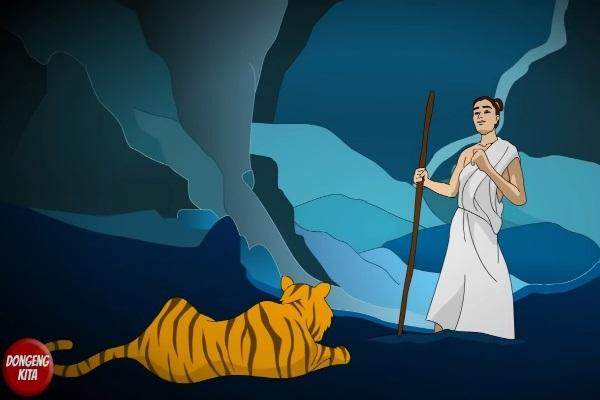 Karena Serakah, Harimau Dihukum Petapa Jadi Berkulit Belang
