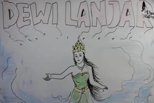 Berguru ke Nyai Rara Kidul, Dewi Lanjar Jadi Ratu Pantai Utara