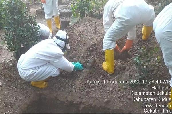 Tim Sukarelawan Pemakaman Jenazah Covid-19 Kudus Mogok Kerja