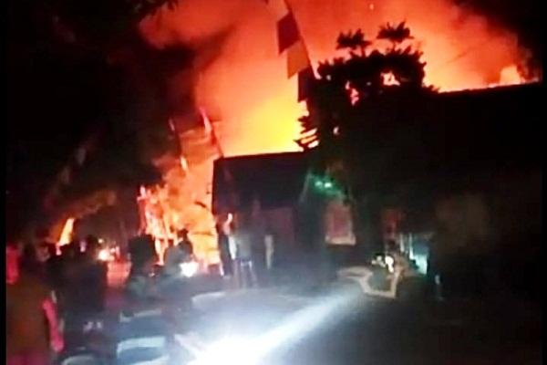 3 Rumah di Kradenan Grobogan Kebakaran saat Malam Tirakatan