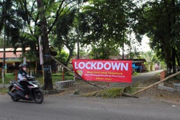 70 RT di Jateng Berstatus Zona Merah, Tidak Semua Lockdown