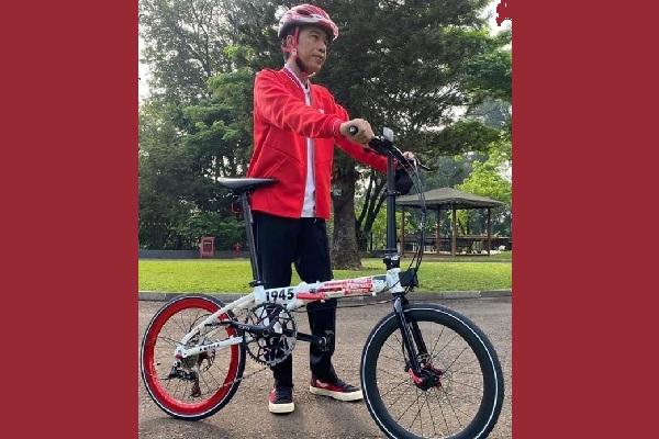 Sepeda Lipat Bikinan Kendal Viral Susul Unggahan Jokowi