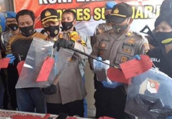 Begini Modus Operasi Pembunuhan Keluarga di Sukoharjo…